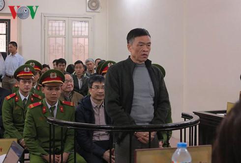 Bị cáo Trần Văn Liêm – cựu TGĐ Vinashinlines