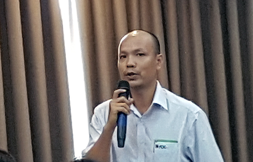 Ông Ngô Văn Nam, Tổng Giám đốc Công ty TNHH ADC (Tp HCM) chuyên về xuất khẩu gạo