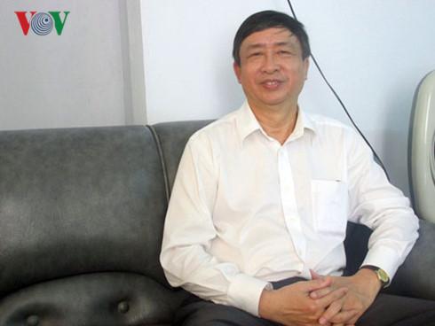 Ông Bùi Văn Tiếng, nguyên Trưởng Ban Tổ chức Thành ủy Đà Nẵng