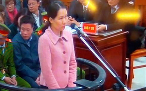 Bị cáo Nguyễn Minh Thu nhận trách nhiệm ủy thác của Nguyễn Xuân Sơn chăm sóc khách hàng Vip.