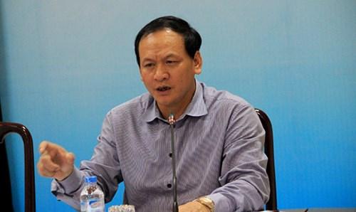 Thứ trưởng Bộ GTVT Nguyễn Nhật.