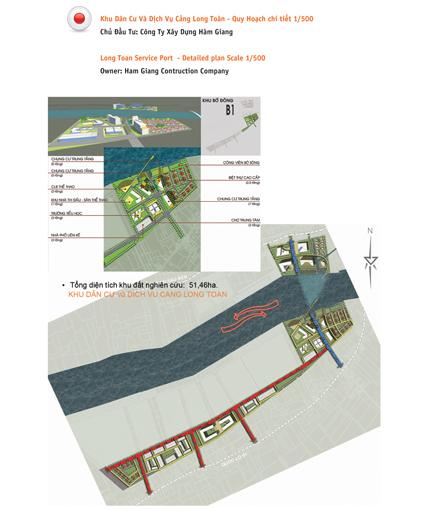 Quy hoạch dự kiến Cụm cảng Long Toàn tại tỉnh Trà Vinh