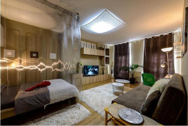 Tổng thể căn hộ toát lên sự nhẹ nhàng, tự nhiên, trang nhã và rất nữ tính.