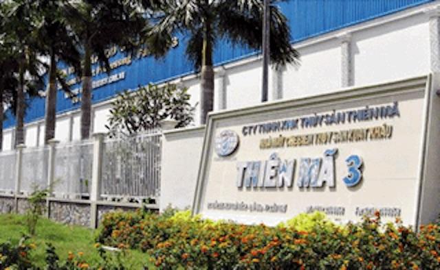 Khoản vay TDĐT của công ty tại VDB Cần Thơ phần lớn đuợc đảm bảo bằng tài sản hình thành từ vốn vay (Nhà máy chế biến Thuỷ sản Thiên Mã 3). Ảnh CTV.
