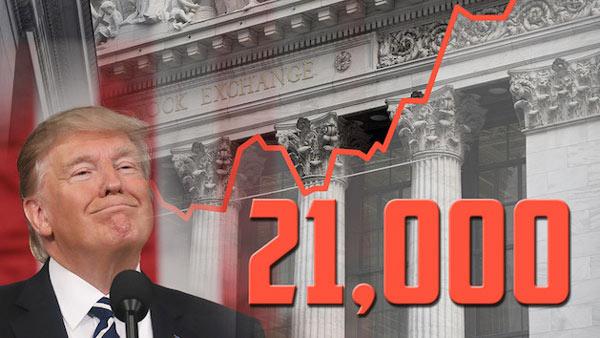 Trước đó Dow Jones phá 2 kỷ lục.