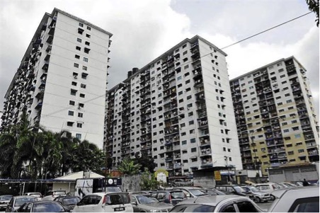 Căn hộ chung cư có giá trị thấp, một dạng nhà ở xã hội tại Malaysia