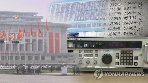 Triều Tiên hôm 12-5 phát sóng những dãy số bí ẩn trên đài phát thanh. Ảnh: YONHAP