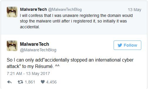 Anh thừa nhận rằng việc mình đăng ký đúng tên miền đó chỉ là một sự tình cờ.