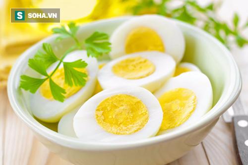 Trứng luộc là phương pháp chế biến tối ưu nhất đối với sức khỏe. (Ảnh minh họa).
