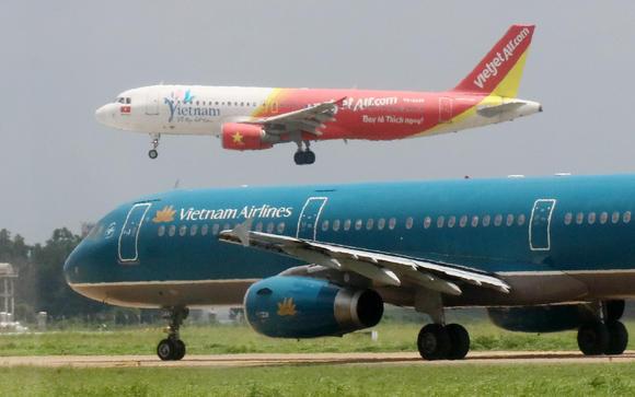 Vietnam Airlines và Vietjet đang thống trị ngành hàng không trong nước