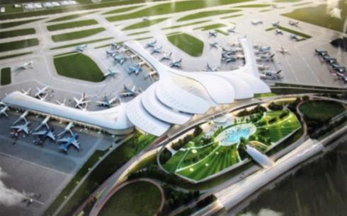 Chọn biểu tượng hoa sen cho thiết kế nhà ga sân bay Long Thành