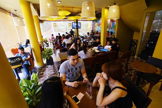 Cà phê Highlands muốn ra nước ngoài và trở thành thương hiệu toàn cầu. Ảnh: Hoàng Triều