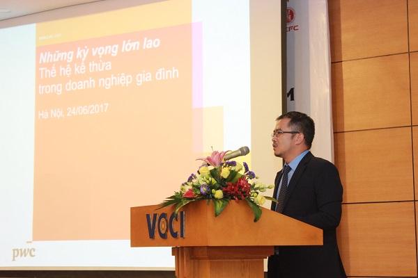 Ông Hoàng Đức Hùng, Phó TGĐ Công ty PwC Việt Nam.