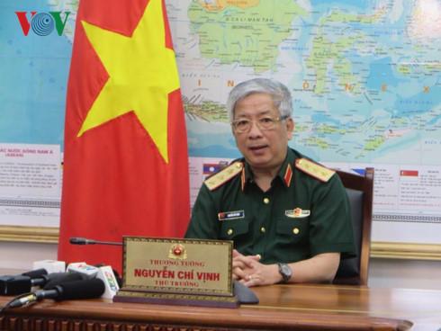 Thượng tướng Nguyễn Chí Vịnh, Thứ trưởng Bộ Quốc phòng