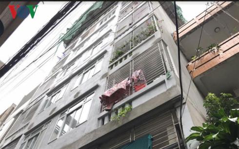 """Hà Nội: Nhà ở quận Thanh Xuân vi phạm """"biến"""" thành chung cư mi ni - ảnh 2"""