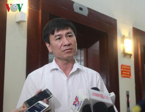 Lê Đình Quảng, Phó ban quan hệ lao động Tổng liên đoàn lao động thông tin với báo chí.
