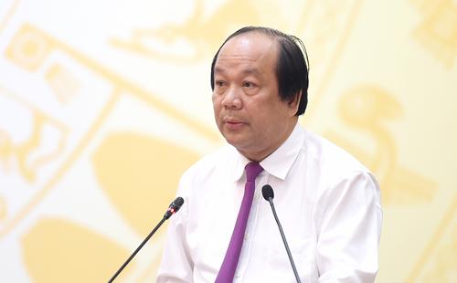 Bộ trưởng, Chủ nhiệm VPCP Mai Tiến Dũng. Ảnh: Chinhphu.vn.