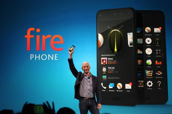 Fire Phone được coi là thất bại lịch sử của Jeff Bezos và Amazon