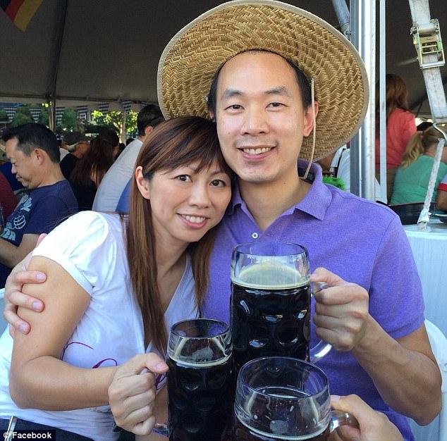 Cặp vợ chồng người Mỹ gốc Á Tina Lam và Michael Cheng – chủ nhân của con phố mang tên Presidio Terrace.