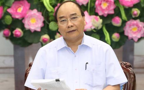 Thủ tướng Chính phủ Nguyễn Xuân Phúc (Ảnh: Thống Nhất/TTXVN)