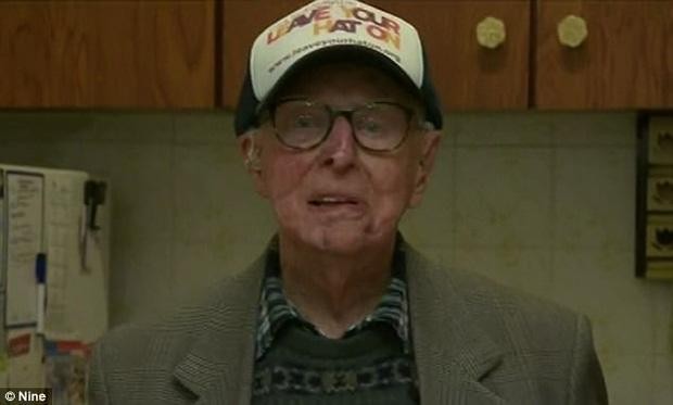 Cụ ông Bert đã lấy lại được sức khỏe sau khi điều trị bệnh ung thư.