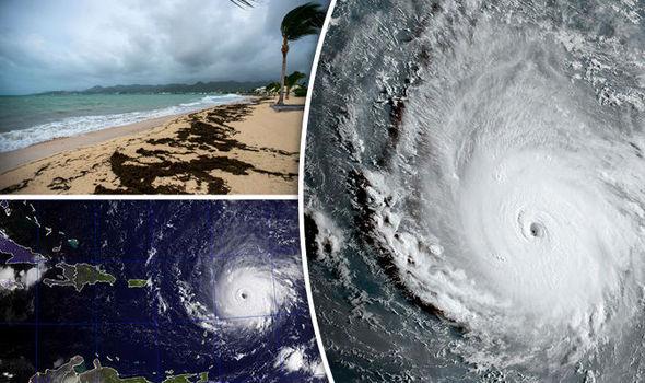 Siêu bão Irma gây thiệt hại lớn khi quét qua vùng biển Caribe. Ảnh: EPA/Getty