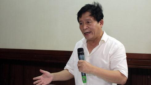 Chủ tịch Hội đồng quản trị Tổng Công ty vận tải thủy (VIVASO) Nguyễn Thủy Nguyên. Ảnh: Chí Tuệ (Tuổi Trẻ).