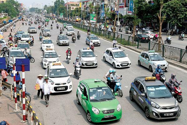 Taxi truyền thống giảm thị phần