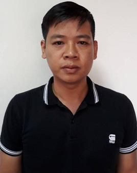 Bị can Nguyễn Đức Hưng.