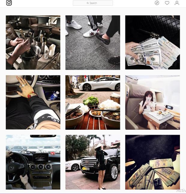 Ảnh chụp khoe sự giàu có của người Việt từ tài khoản Instagram richkidsofvietnam - Hội con nhà giàu Việt Nam.
