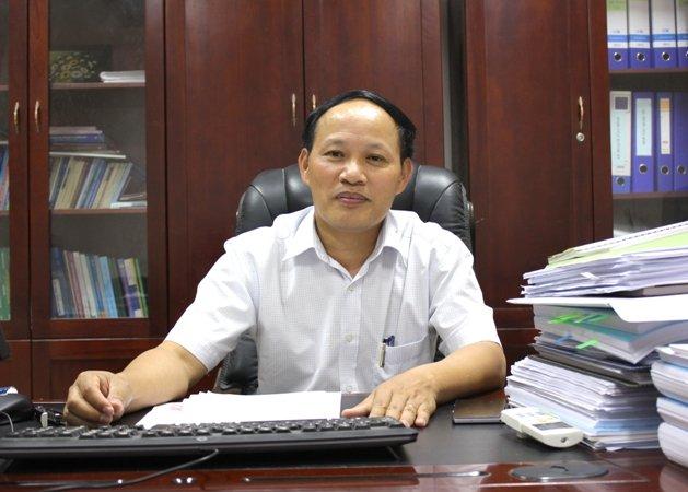 Tổng cục trưởng Tổng cục Môi trường Nguyễn Văn Tài. Ảnh: Báo TN&MT