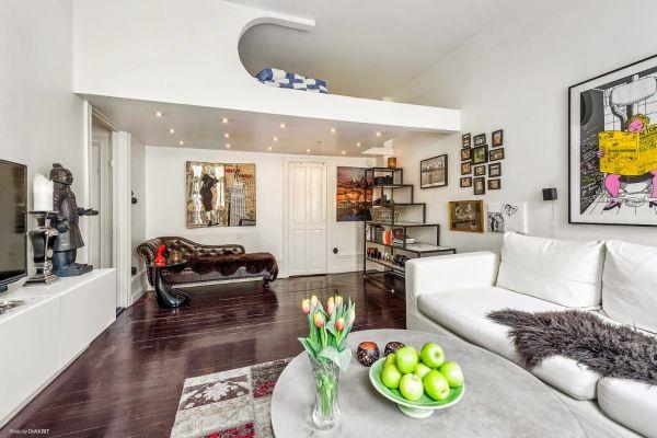 Với cách sắp xếp thông minh, căn hộ nhỏ này luôn mang đến cho chủ nhân một không gian sống tuyệt đẹp, rộng thoáng và vô cùng tiện nghi.
