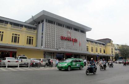 Ga Hà Nội. Ảnh: Infornet