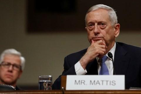 Bộ trưởng Quốc phòng Mỹ, J.Mattis.