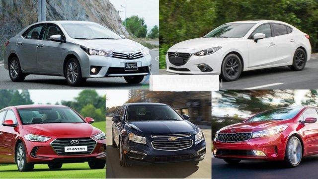 Nhiều mẫu xe trên thị trường giảm giá