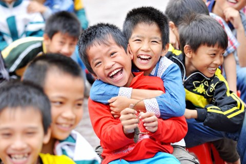 Việt Nam có nhiều trẻ em - điều mà nhiều người Mỹ thấy ngưỡng mộ.