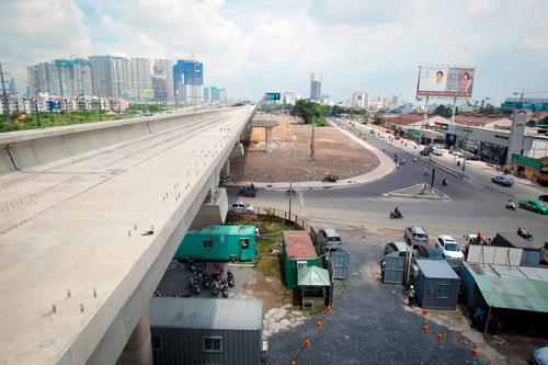 TP HCM kiến nghị Trung ương giải quyết ách tắc nguồn vốn cho dự án tuyến Metro số 1 Ảnh: Hoàng Triều