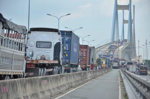 Dự án Cầu Phú Mỹ là một trong các dự án được TP HCM thực hiện từ BOT, BT. (Ảnh: Đình Thảo/Dân trí).