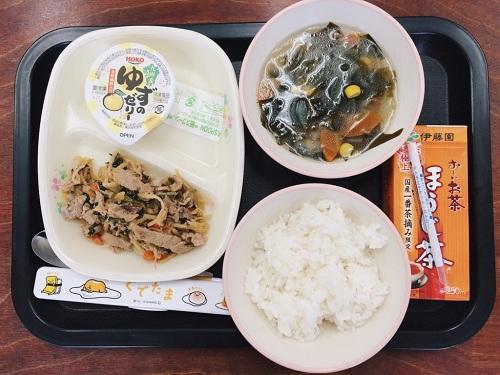 Dinh dưỡng luôn được chú trọng. Đây là một phần ăn cân bằng cho trẻ em Nhật.