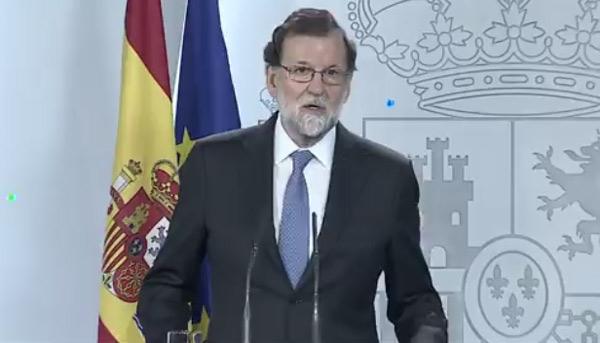 Thủ tướng Tây Ban Nha Mariano Rajoy. (Ảnh: BBC)