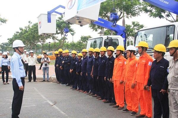 Điện lực miền Trung diễn tập xử lý tình huống mất điện trong dịp APEC