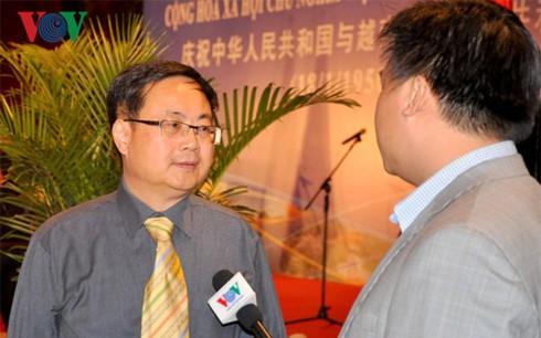 Giáo sư Lưu Thuỵ trả lời phỏng vấn Đài TNVN