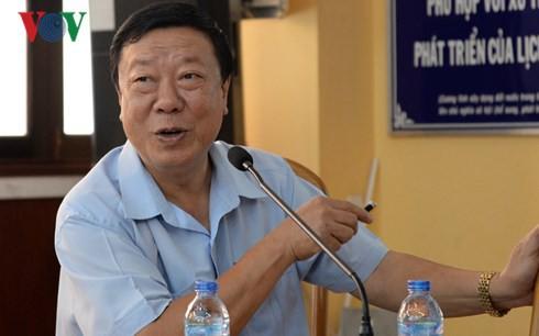Giáo sư, Tiến sỹ Nguyễn Trọng Hòa