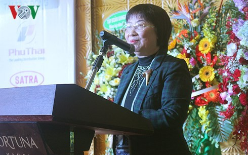 Bà Đinh Thị Mỹ Loan, Chủ tịch Hiệp hội Bán lẻ Việt Nam