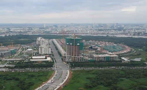 Một dự án nhà ở xã hội tại quận Bình Tân , TP HCM đang hình thành để phục vụ người có thu nhập thấp