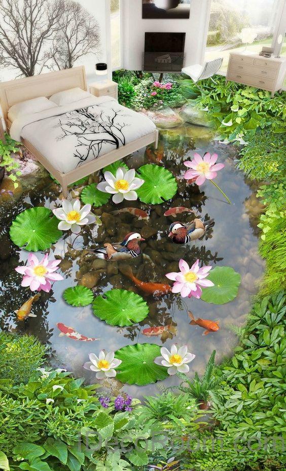 photo 10 1509084163121 Nhà đẹp mê mẩn với công nghệ sàn 3D
