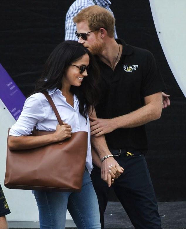 Cô nàng Meghan và gương mặt hạnh phúc bên bạn trai.