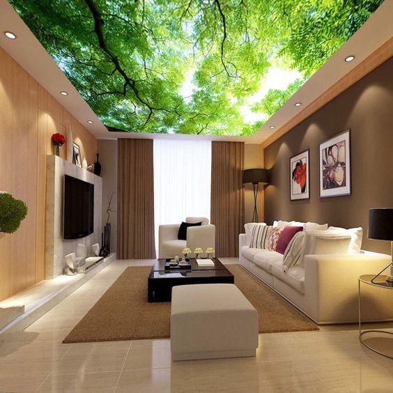 Ngắm những căn hộ đẹp đến nao lòng với trần 3D cực độc
