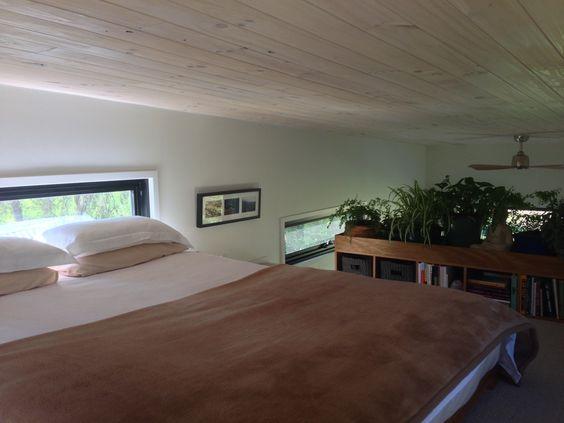 Gác xép hẳn là một không gian riêng tư và đẹp nhất trong ngôi nhà này. Nơi đây có tầm nhìn tuyệt đẹp ra bên ngoài.