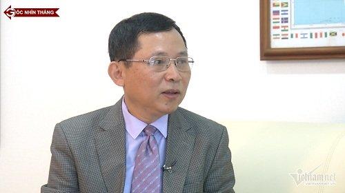 Ông Lê Thanh Hải, Phó Tổng Giám đốc Trung tâm Khí tượng thuỷ văn Quốc gia chia sẻ trong chuyên mục Góc nhìn thẳng
